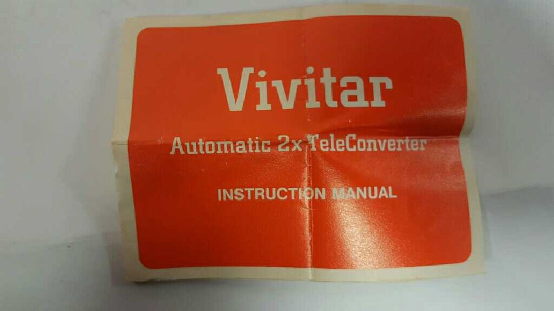 Vivitar Automatic Tele Converter - 8