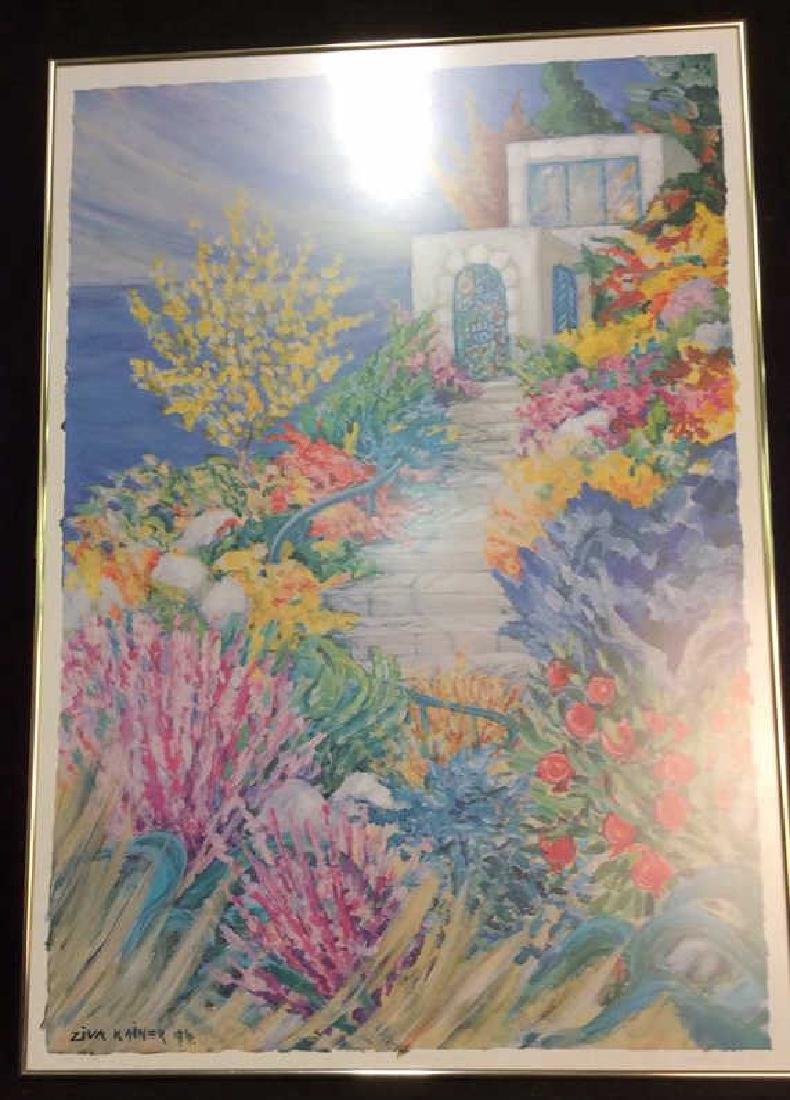 Ziva Kainer Lithograph Signed Numbered - 2