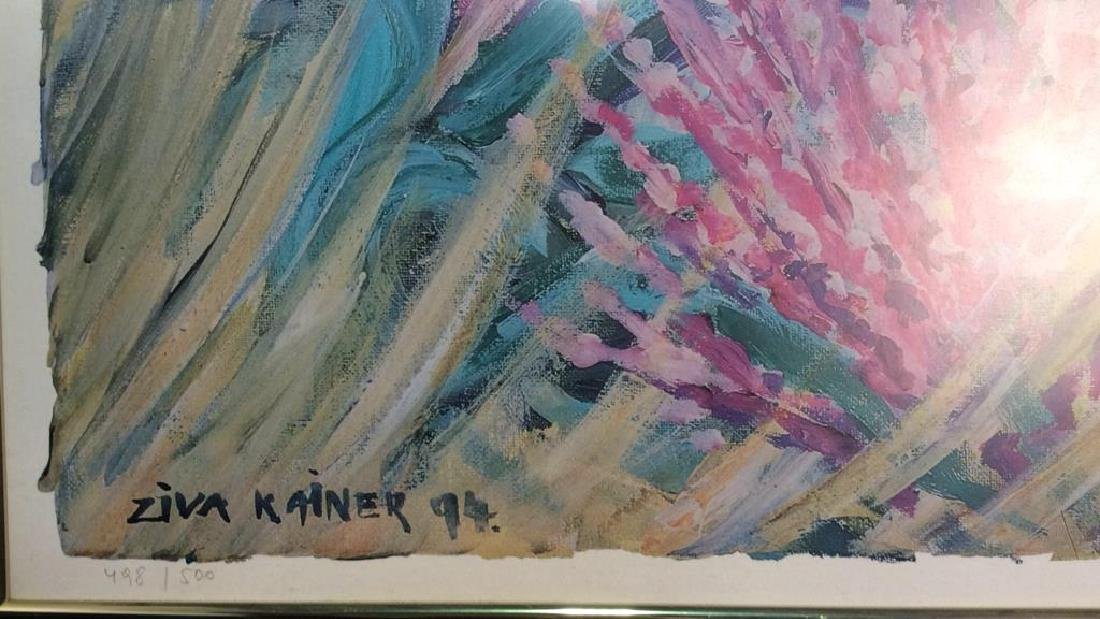 Ziva Kainer Lithograph Signed Numbered - 3