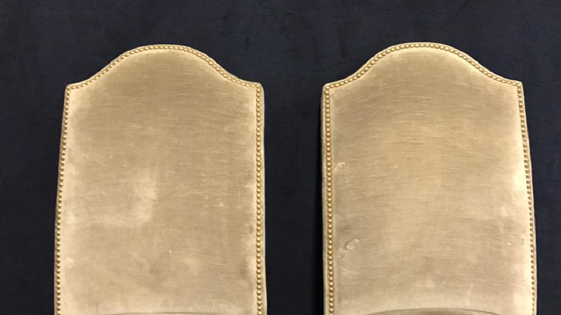 Set 4 Upholstered Dining Chairs - 4