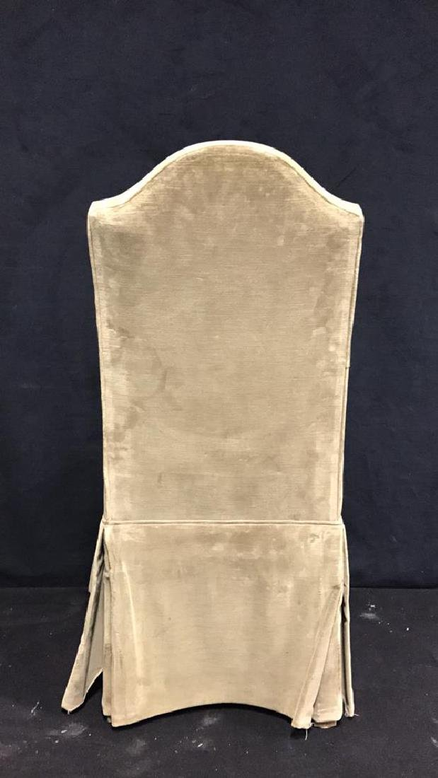 Set 4 Upholstered Dining Chairs - 9