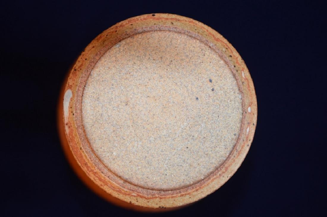 Earth Tone Clay Vase - 3