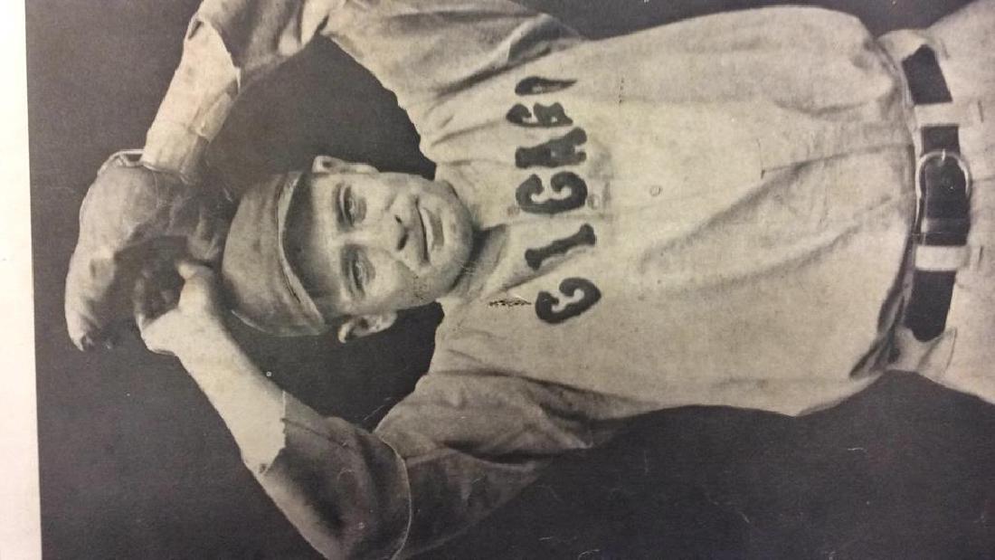 Collection Vintage Baseball Magazine Photos - 2
