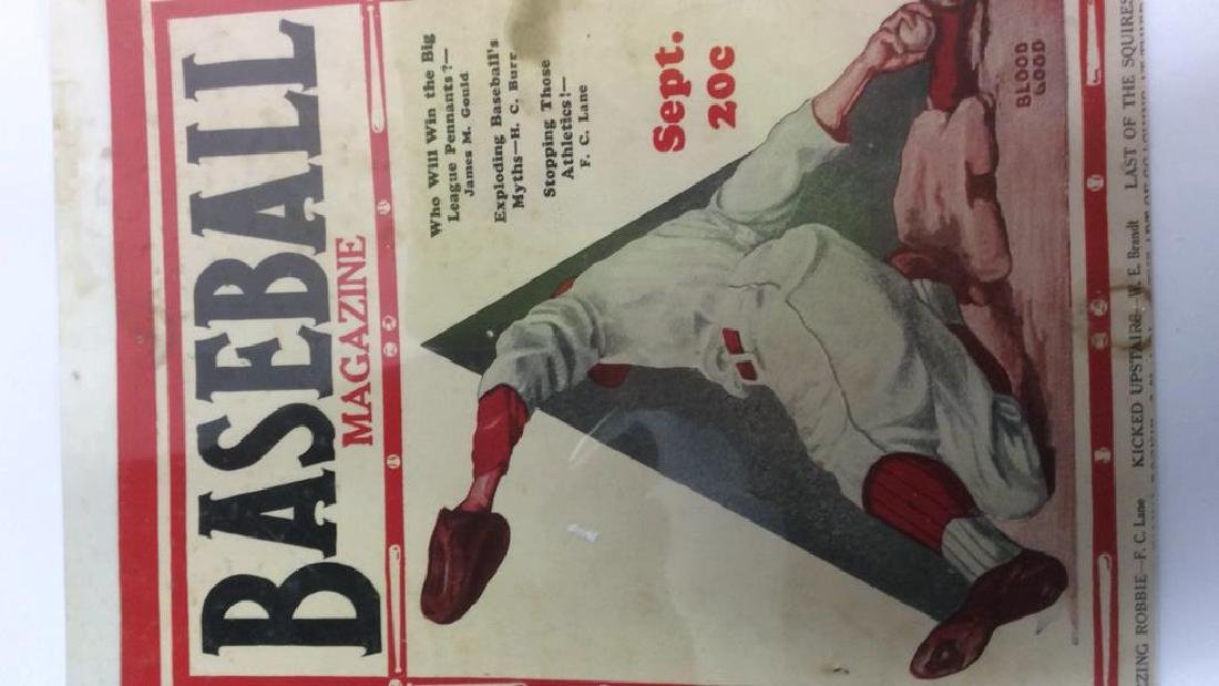 Collection Vintage Baseball Magazine Photos - 3