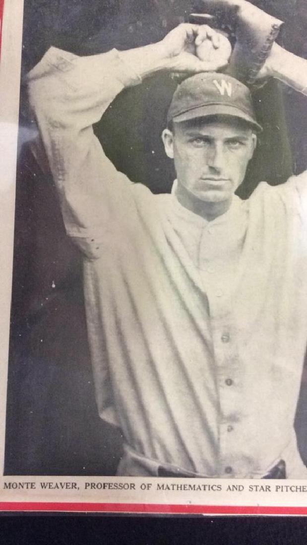 Collection Vintage Baseball Magazine Photos - 4