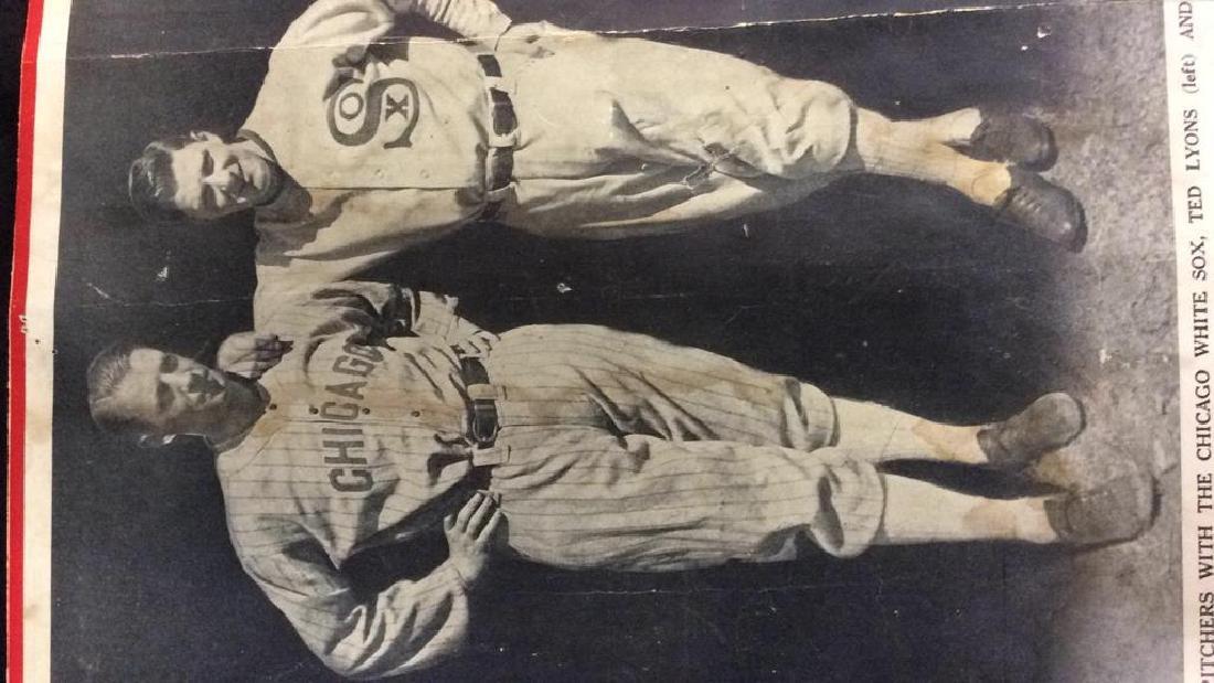 Collection Vintage Baseball Magazine Photos - 5