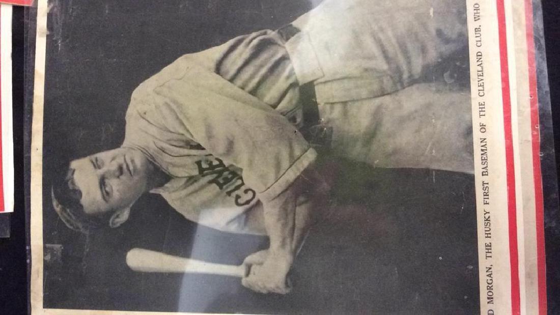 Collection Vintage Baseball Magazine Photos - 6