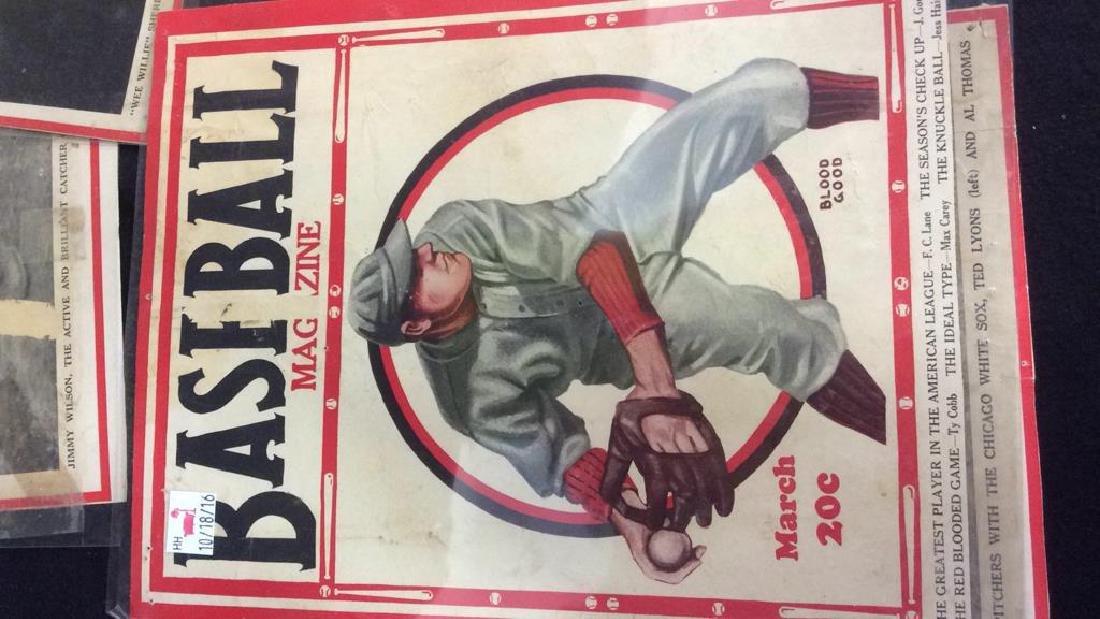 Collection Vintage Baseball Magazine Photos - 7