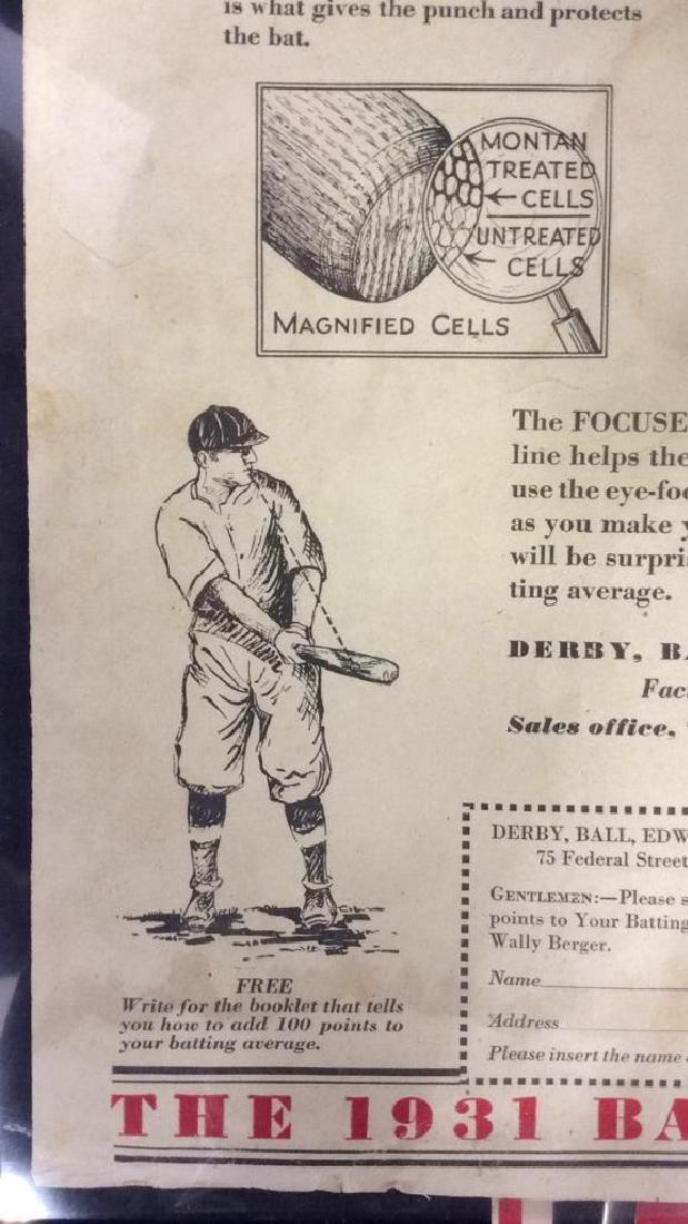 Collection Vintage Baseball Magazine Photos - 9