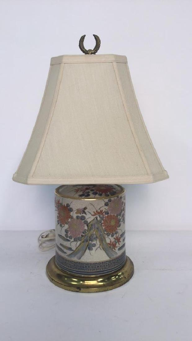 2 Gold Painted Vintage Lamps - 6