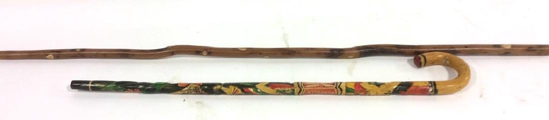 Wooden Walking Stick and Cane
