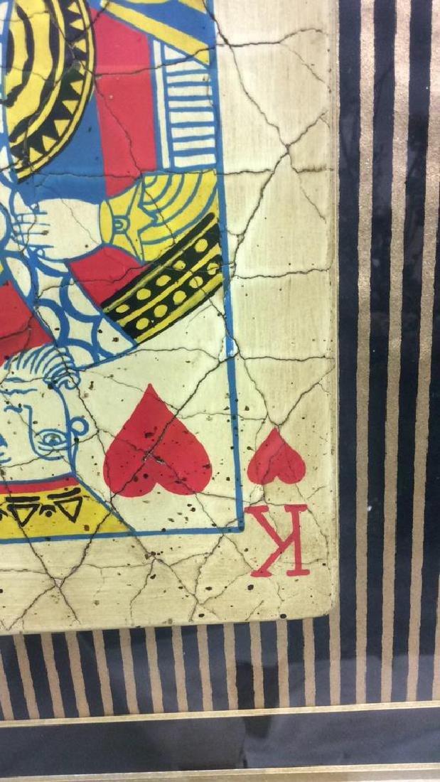 King Playing Card Mixed Media Artwork - 10