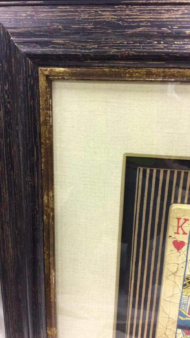 King Playing Card Mixed Media Artwork - 4