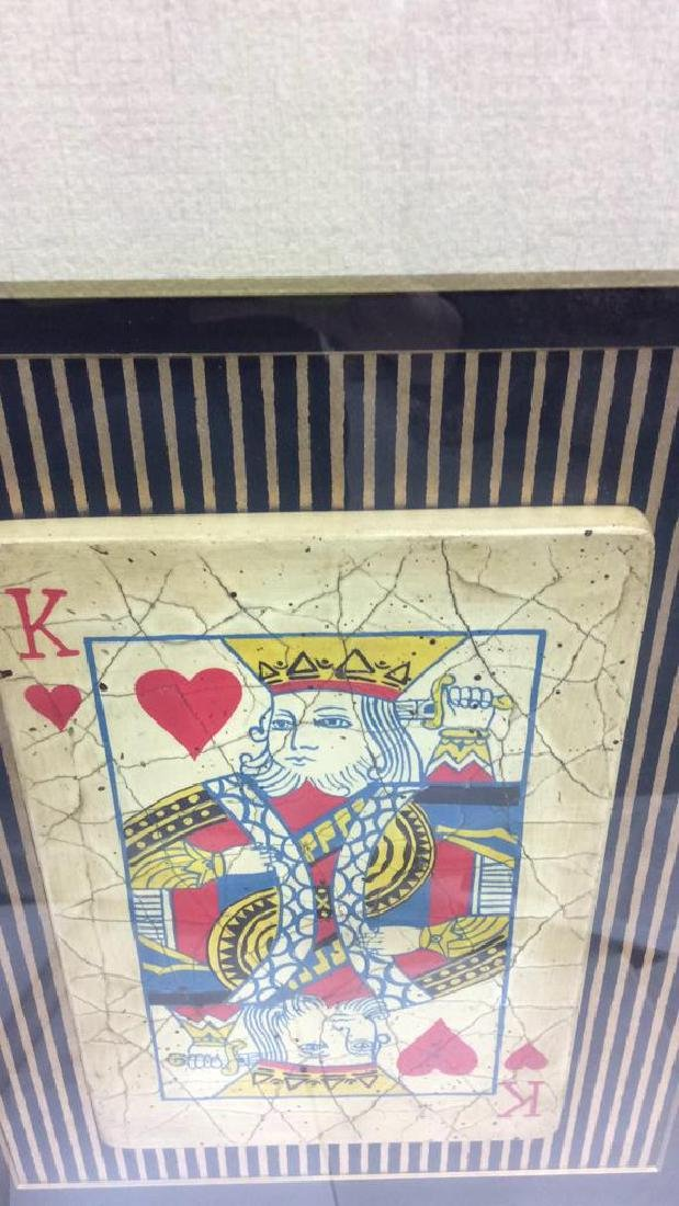 King Playing Card Mixed Media Artwork - 5