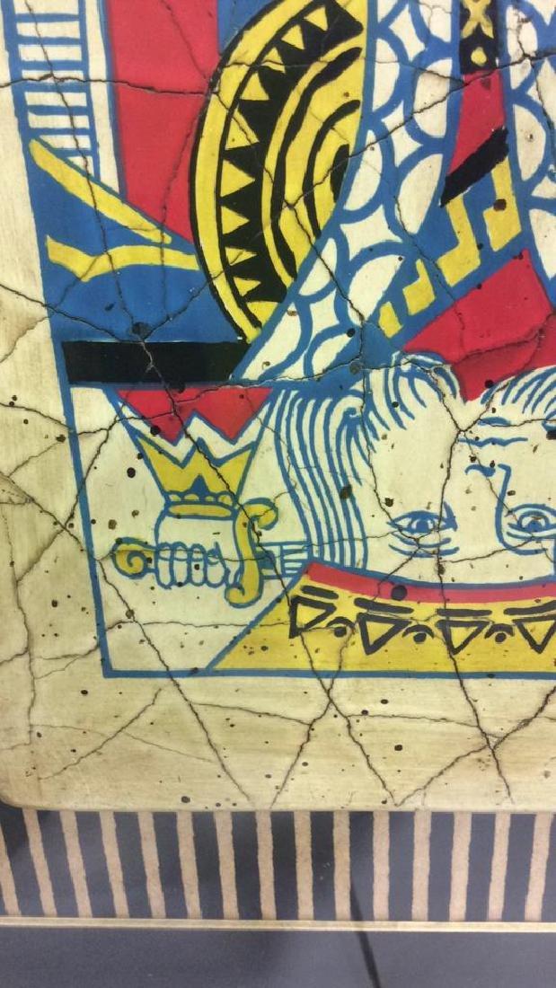King Playing Card Mixed Media Artwork - 7