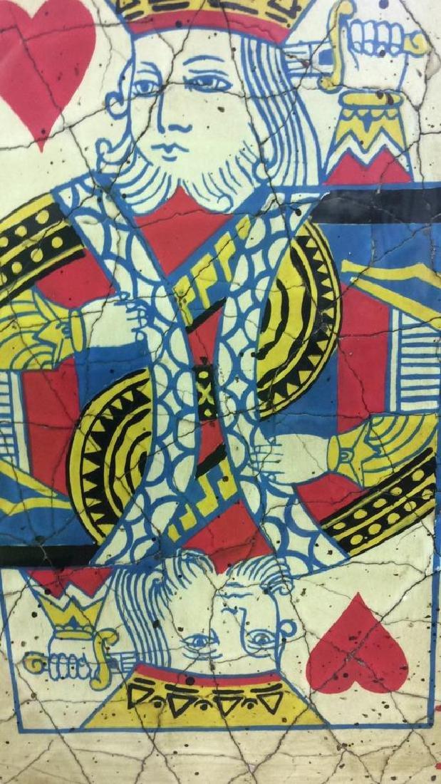King Playing Card Mixed Media Artwork - 9