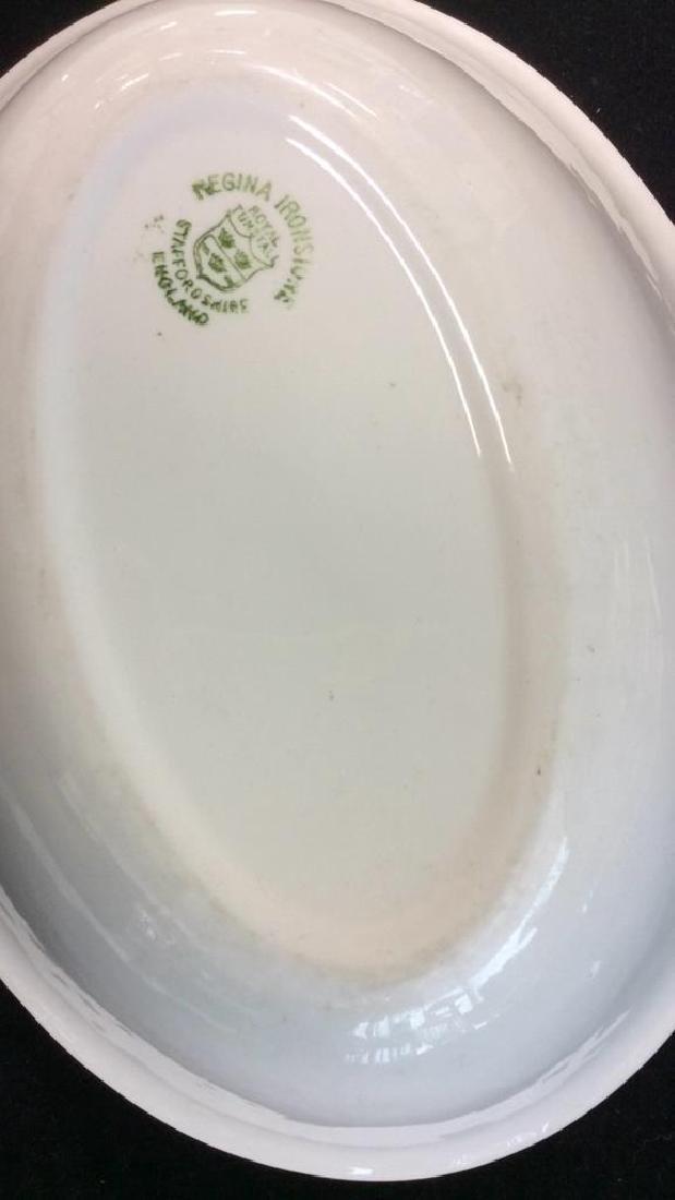 Vintage White Ceramic Group Lot - 10