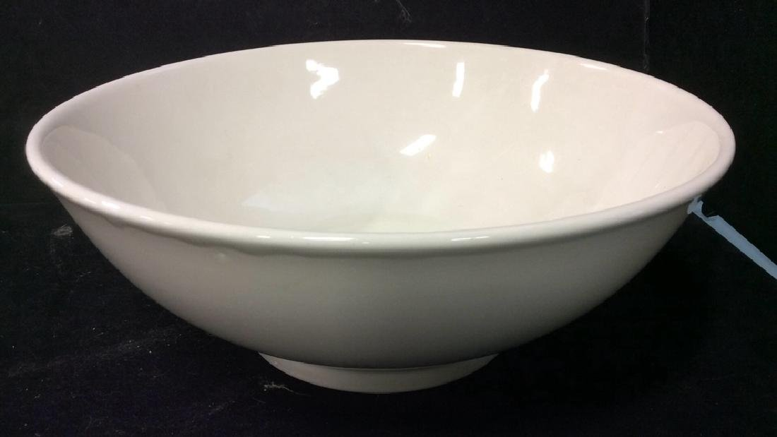 Vintage White Ceramic Group Lot - 2