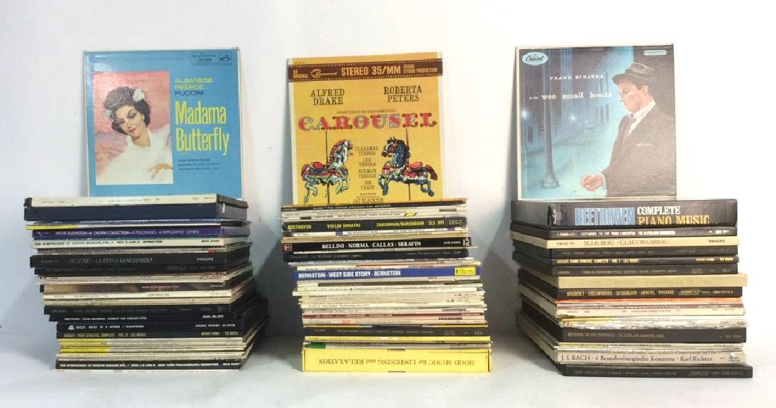 Collection Of Vinyl Albums-Show Tunes To Opera
