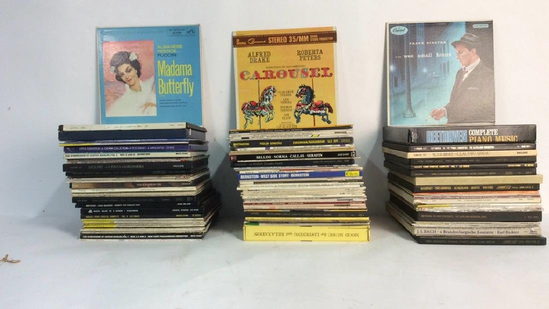 Collection Of Vinyl Albums-Show Tunes To Opera - 2
