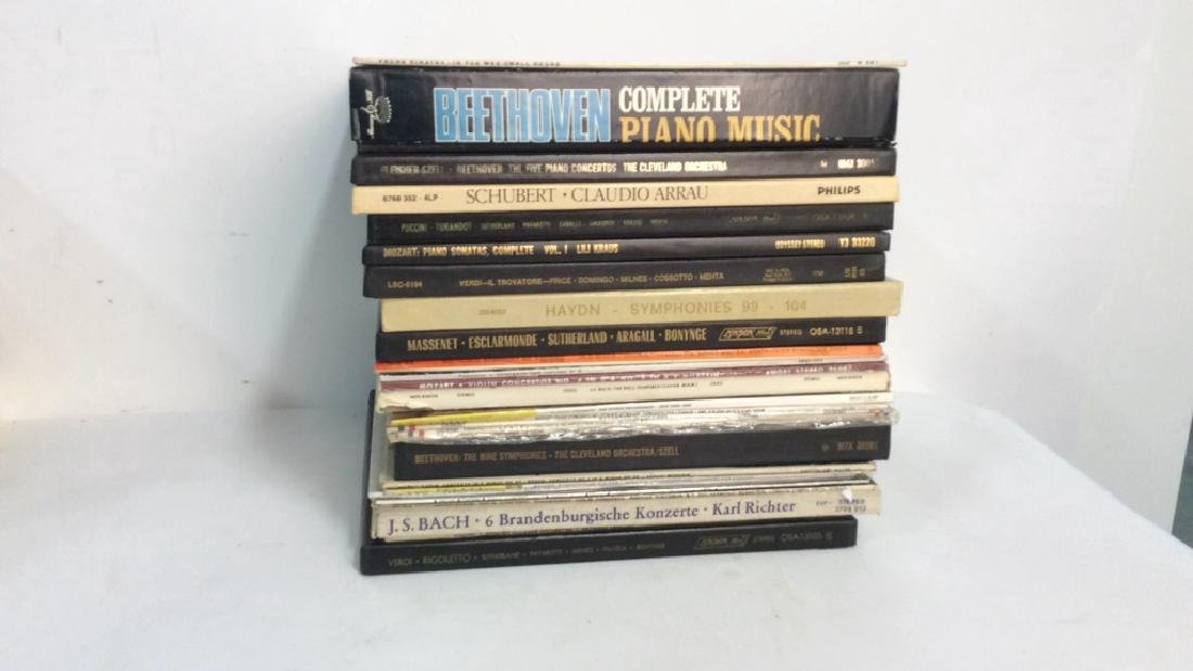 Collection Of Vinyl Albums-Show Tunes To Opera - 3
