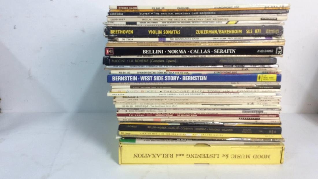 Collection Of Vinyl Albums-Show Tunes To Opera - 4