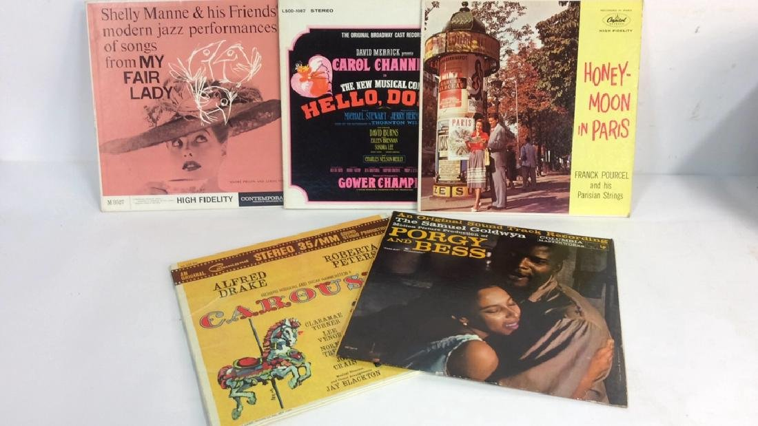 Collection Of Vinyl Albums-Show Tunes To Opera - 6