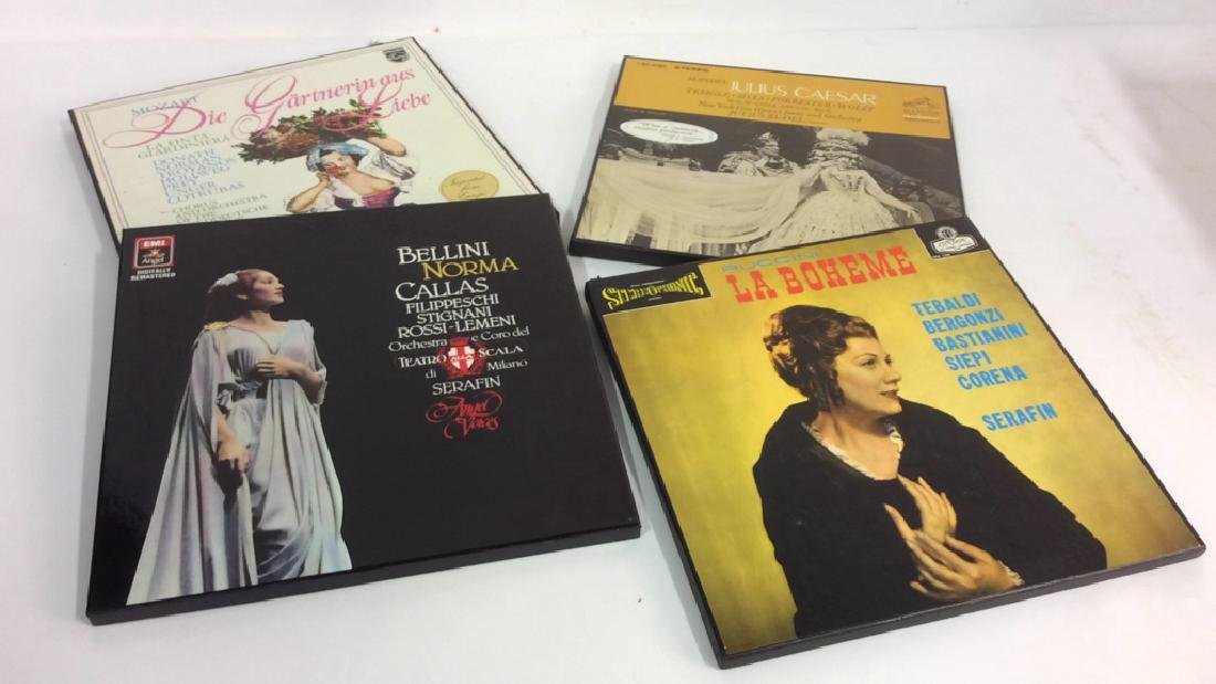 Collection Of Vinyl Albums-Show Tunes To Opera - 7