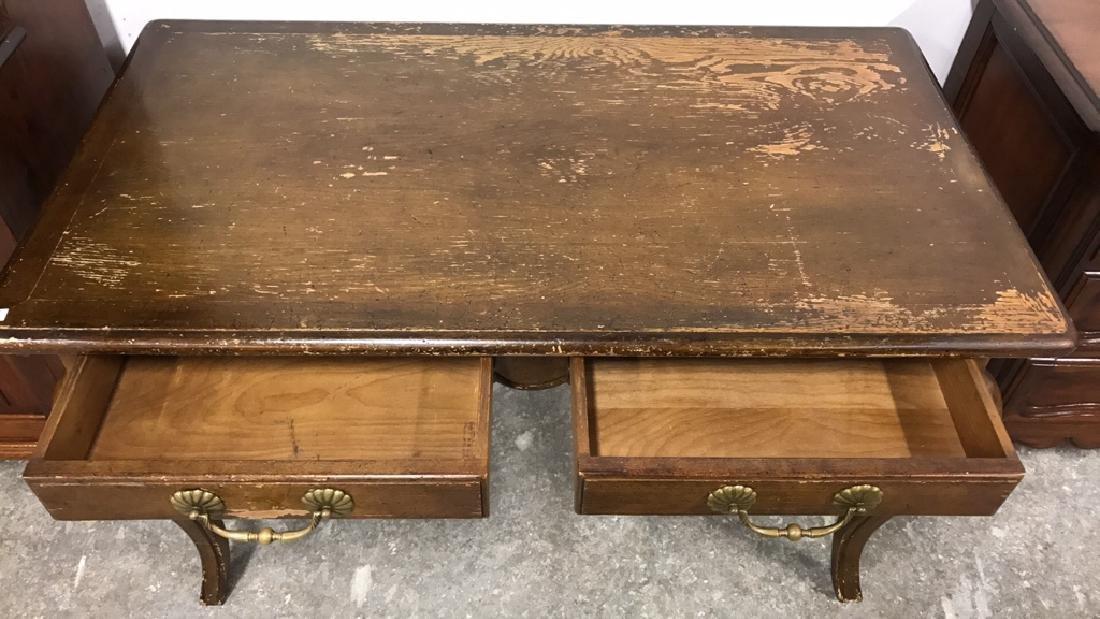Vintage Style Wood Desk - 8