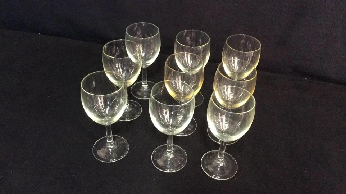 Group Of 9 Wine Glasses - 2