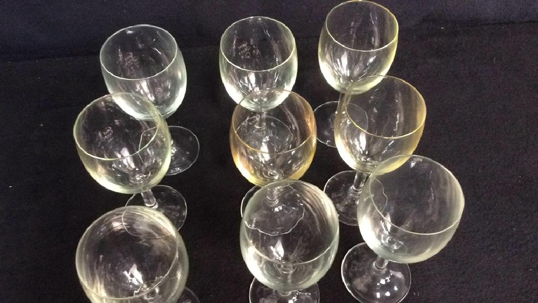 Group Of 9 Wine Glasses - 3