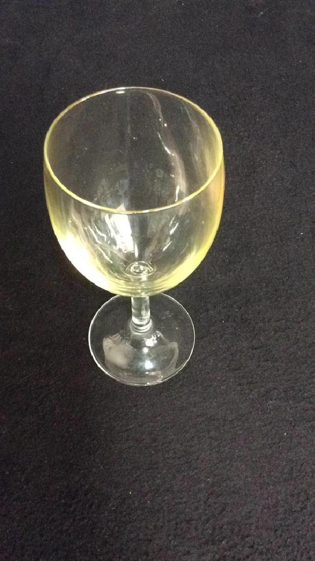 Group Of 9 Wine Glasses - 5