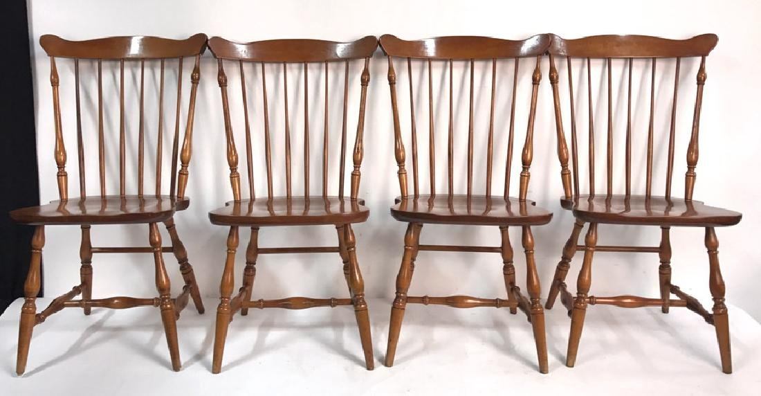 HC CO. Set of 4 Side Chairs