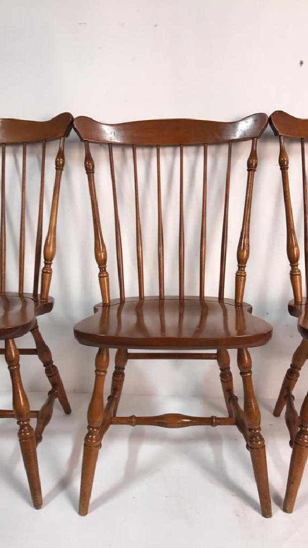 HC CO. Set of 4 Side Chairs - 4