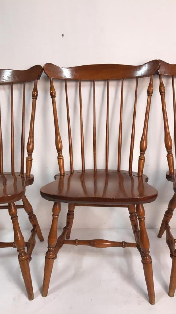 HC CO. Set of 4 Side Chairs - 5