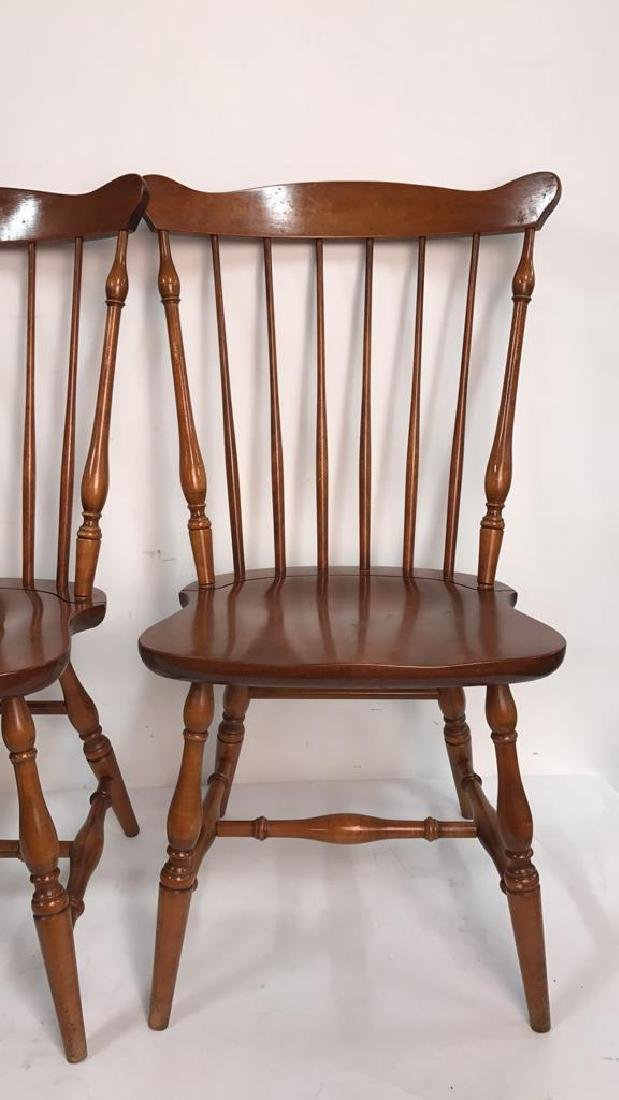 HC CO. Set of 4 Side Chairs - 6