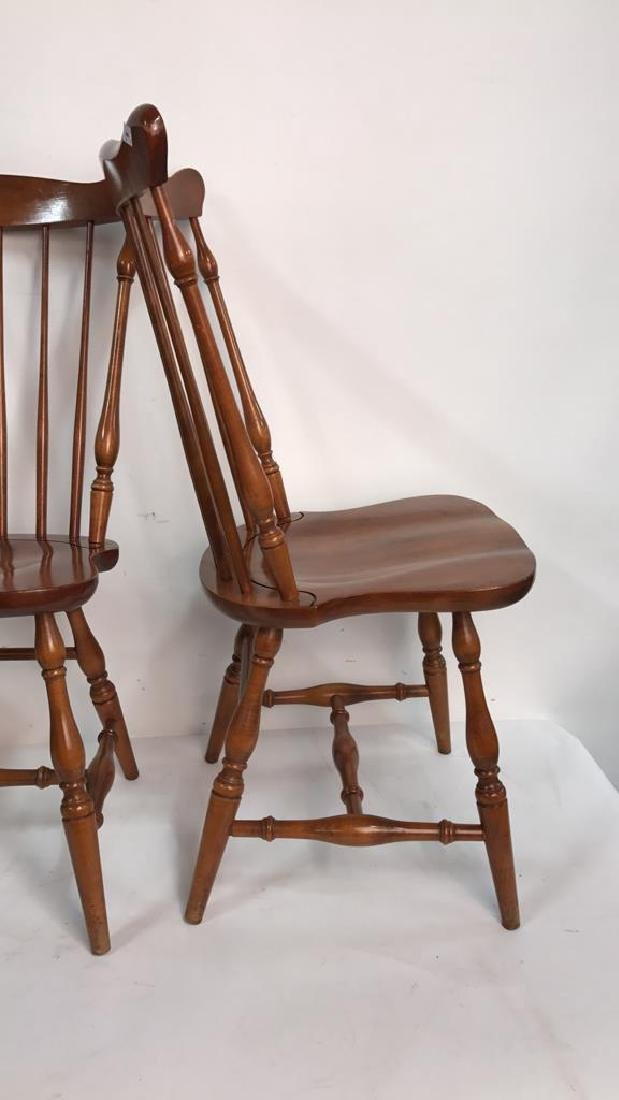 HC CO. Set of 4 Side Chairs - 7