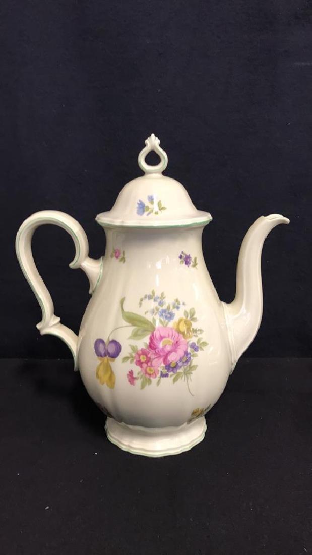 13 Piece ROSENTHAL BAHNHOF Teapot & Plates - 3