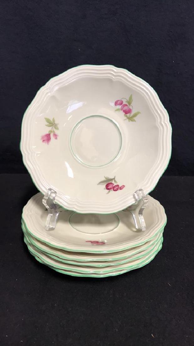 13 Piece ROSENTHAL BAHNHOF Teapot & Plates - 5
