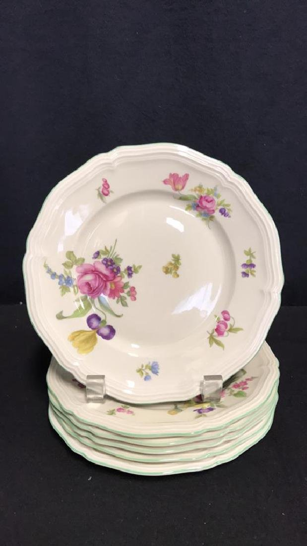 13 Piece ROSENTHAL BAHNHOF Teapot & Plates - 7