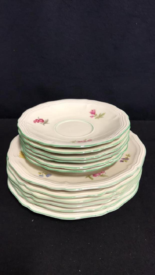 13 Piece ROSENTHAL BAHNHOF Teapot & Plates - 9