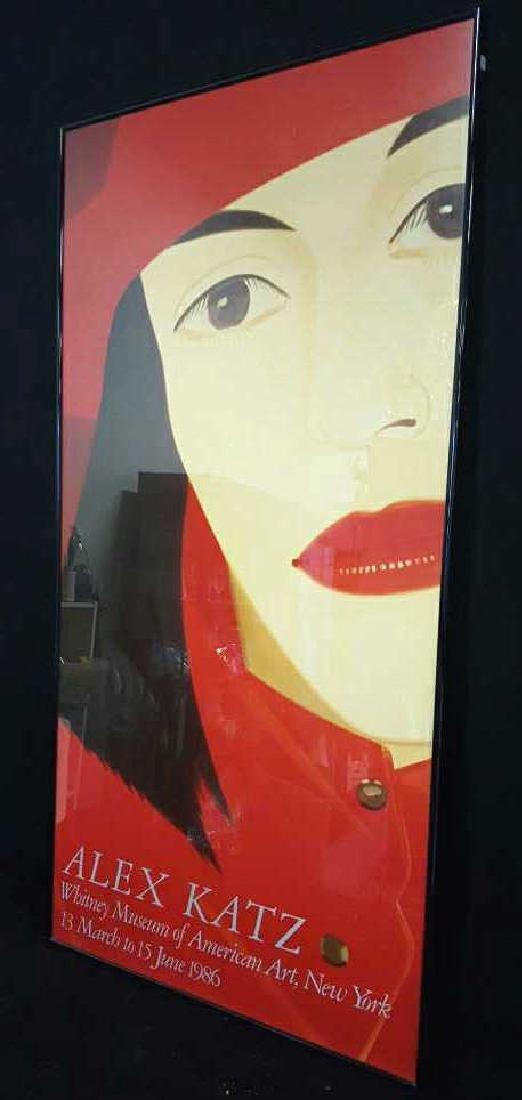 ALEX KATZ Framed 1986 Print