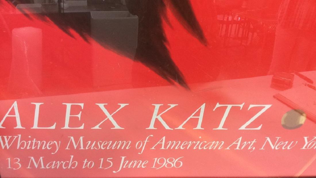 ALEX KATZ Framed 1986 Print - 4