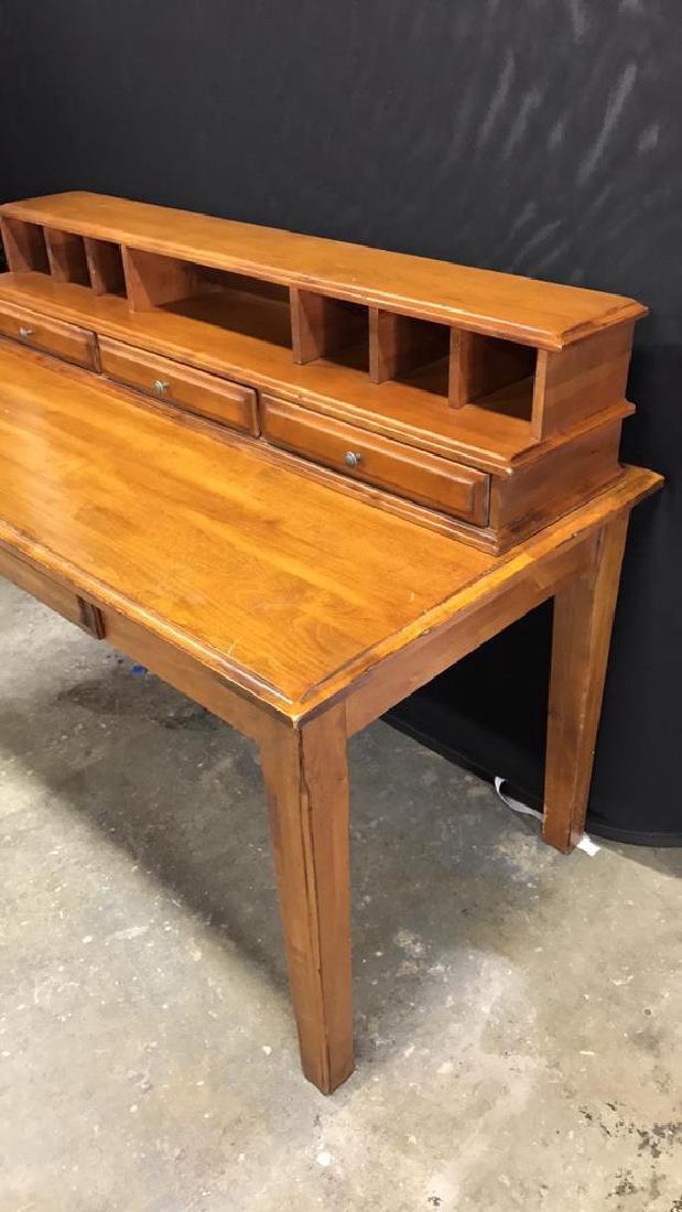 Vintage Wood Desk - 3