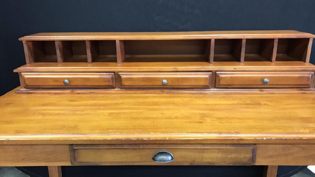 Vintage Wood Desk - 4