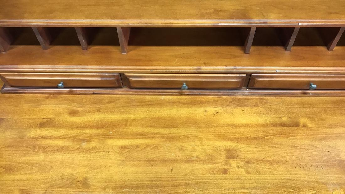 Vintage Wood Desk - 5