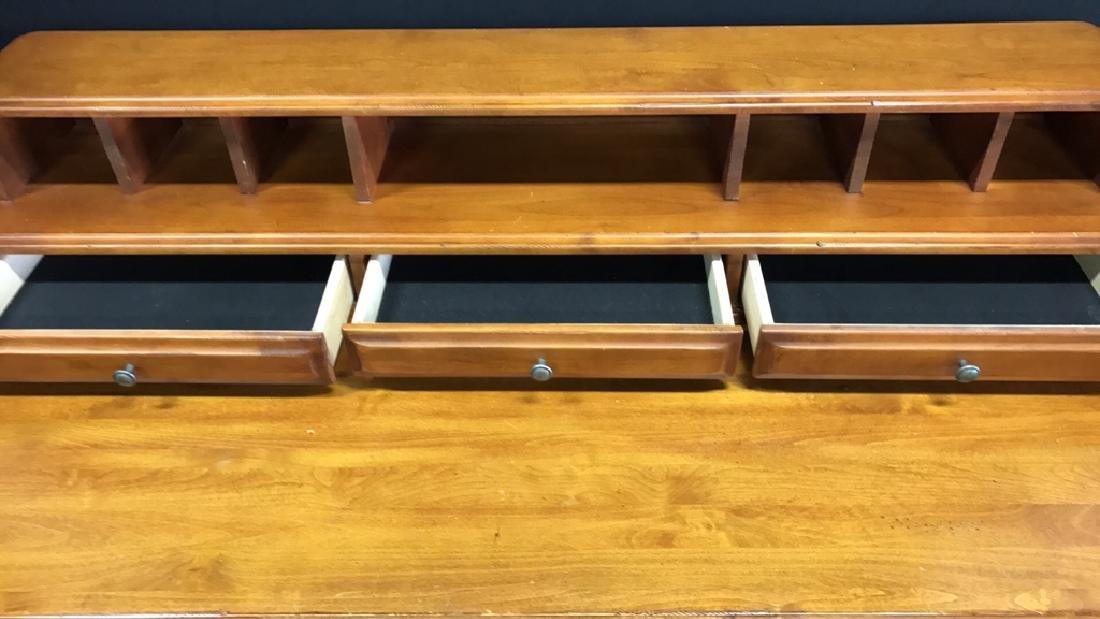 Vintage Wood Desk - 6