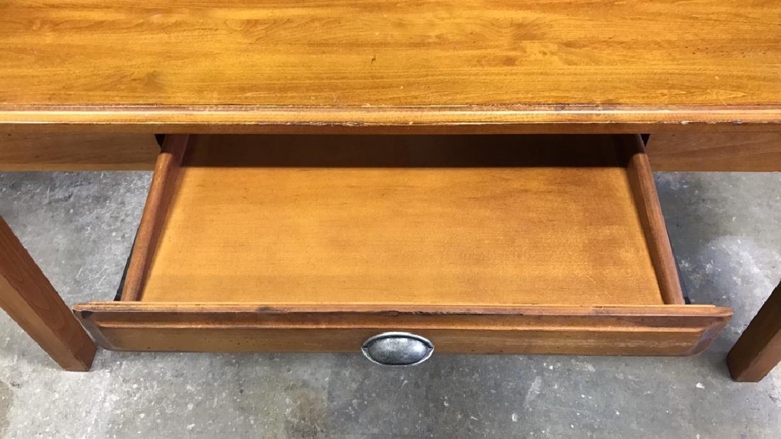 Vintage Wood Desk - 8