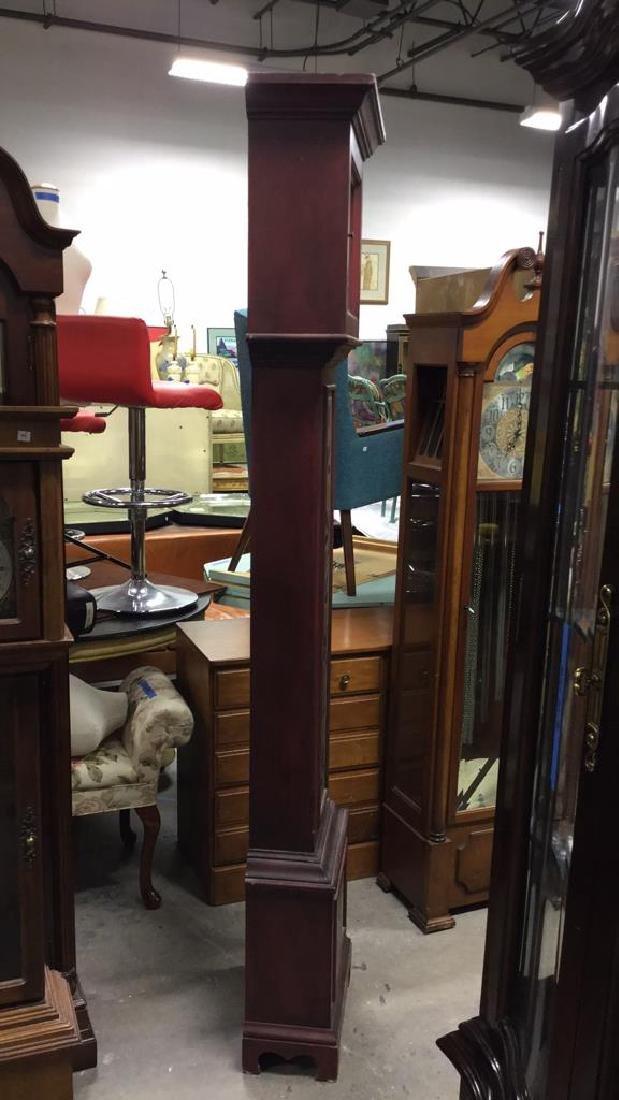 Trisden Manor Vintage Tall Wooden Case Clock - 6