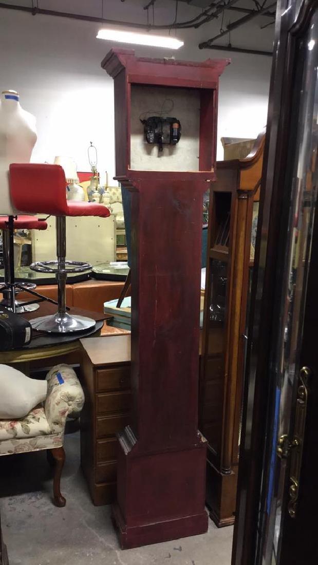 Trisden Manor Vintage Tall Wooden Case Clock - 7